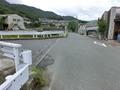 ソロモン動物病院付近の側道