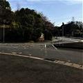 桜坂~明野方面への上り口  横断歩道